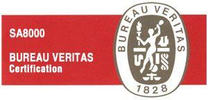 SA8000 Bureau Veritas Zertifikat