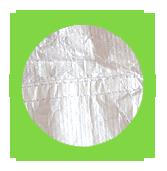 Taschen aus Tyvek® Material sind extrem leicht und reißfest